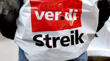 Verdi Hamburg Streik